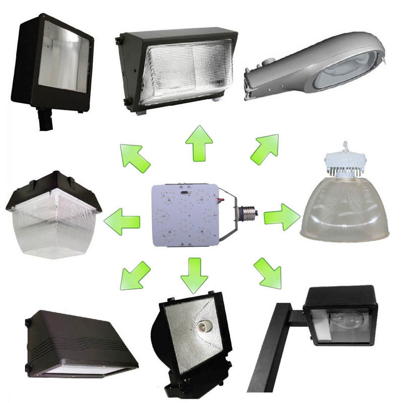 100 Watt LED HID Retrofit Kit